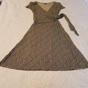 Ann Taylor Wrap Dress Size 4